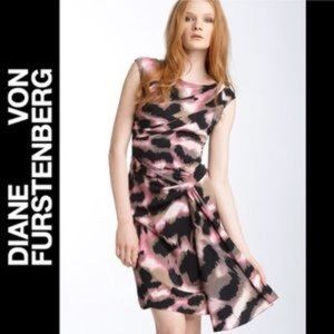 Diane von furstenberg dress/ Bec in animal print